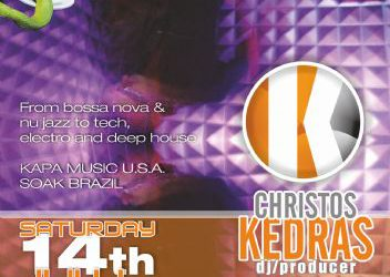dj/producer: Christos Kedras @ edem club – 14/7/2012
