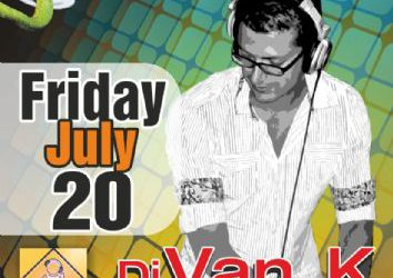 Edem Club: dj Van_K – 20/7/2012