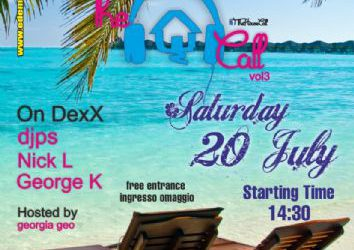 Beach party @ edemclub – 20/7/2013