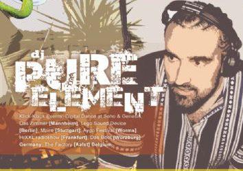 "EDEM CLUB : ""PURE ELEMENT"" – 28/7/2012"