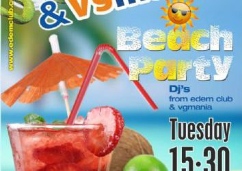 Beach party @ edemclub – 30/7/2013