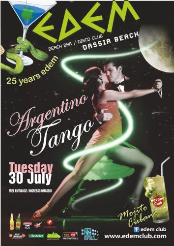 Argentino Tango & Mojito Cubano – 30/7/2013
