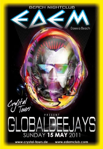 "Sunday 15 May "" GLOBAL DEEJAYS"" – 15/5/2011"