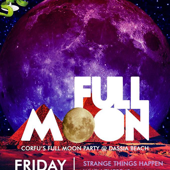 Full moon party @ edem club – 16/9/2016