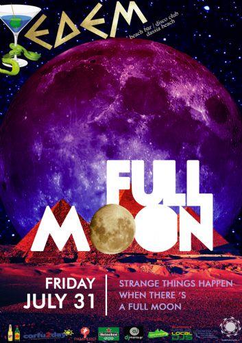 Full moon – 31/7/2015