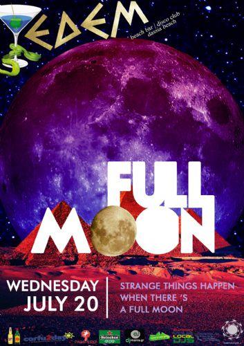 Full moon party – 20/7/2016