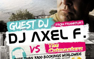 Dj/producer Axel F. – 21/8/2015