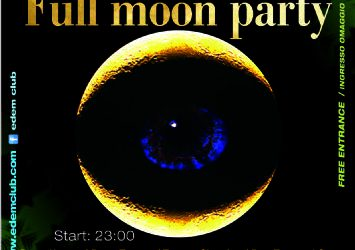 full moon party @ edem club – 13/6/2014