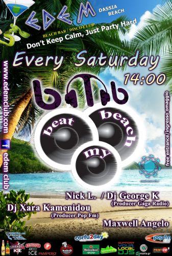 Beach Party @ Edem club – 14/6/2014