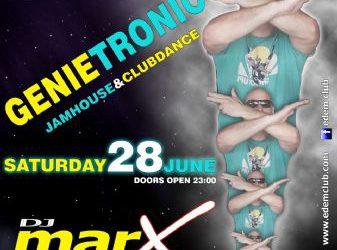 Genietronic @ edem club – 28/6/2014