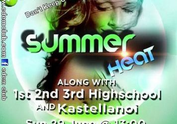 Summer Heat @edem club – 29/6/2014