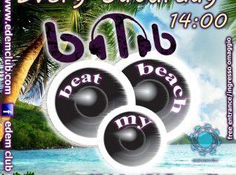 Every Saturday beach party @ Edem club 'Beat My Beach' – 5/7/2014