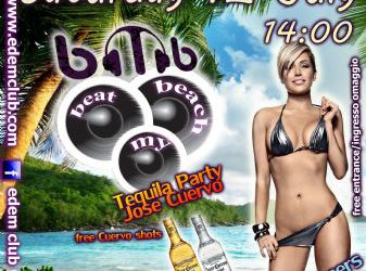 Beach party / Tequila party with Jose Cuervo – 12/7/2014