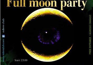 full moon party @ edem club – 12/7/2014