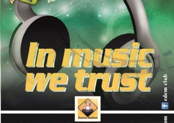 'In The Music We Trust' – 29/7/2016