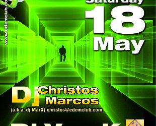 dj Van_K & dj Christos Marcos (a.k.a. dj MarX) – 18/5/2013
