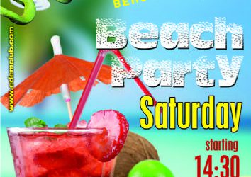Beach party @ edemclub – 22/6/2013