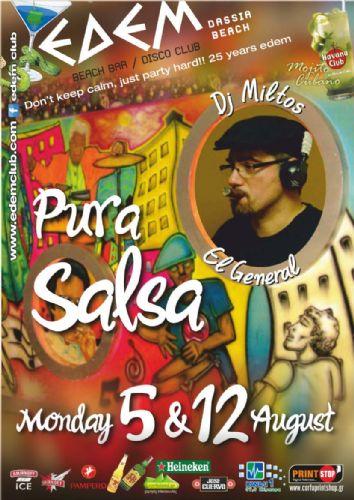 """""""Pura Salsa"""" – 5 & 12/8/2013"""