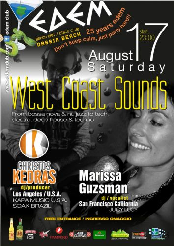 West Coast Sounds – 17/8/2013