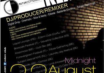 dj/producer : Klaina – 22/8/2013
