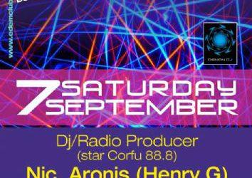 dj/Radio Producer Nic. Aronis (Henry G) – 7/9/2013