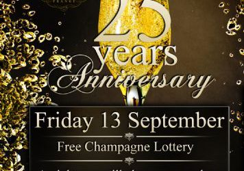 25th Anniversary Party – 13/9/2013