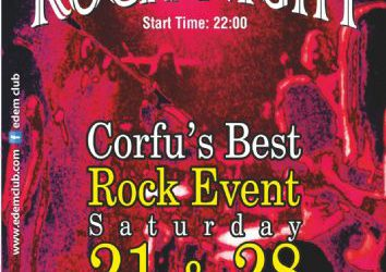 Corfu's Best Rock Event ! 21 & 28/9/2013