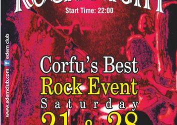 Corfu's Best Rock Event ! 21 & 28/9/2013