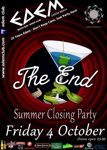 Summer closing party – 4/10/2013