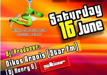 Edem club: dj/producer Nikos Aronis (STAR FM 88,8) – 16/6/2012
