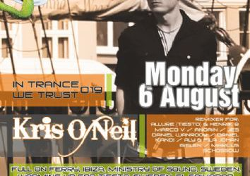 dj/producer Kris O'Neil (black hole recordings) – 6/8/2012