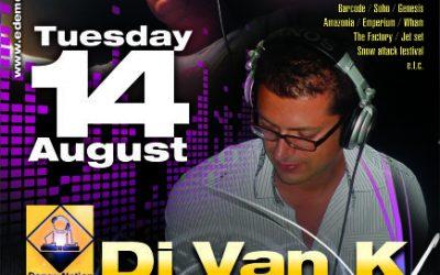 Christos Marcos & dj Van_K @ Edem club – 14/8/2012