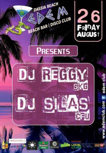 Dj REGGY (skg) & DJ SILAS (cfu) – 26/8/2016