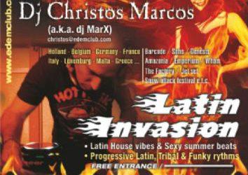 """Latin Invasion"" – 5/9/2012"