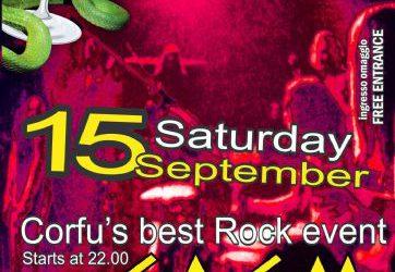 Rock Night @ Edem club – 15/9/2012