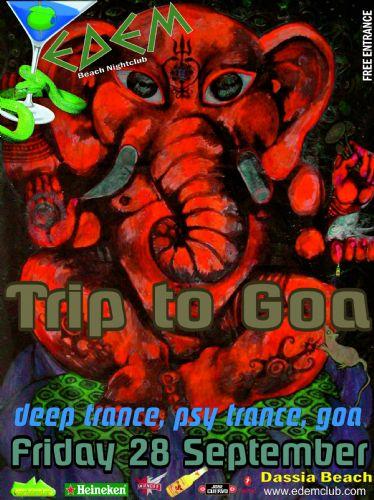 """"""" TRIP TO GOA """" – 28/9/2012"""