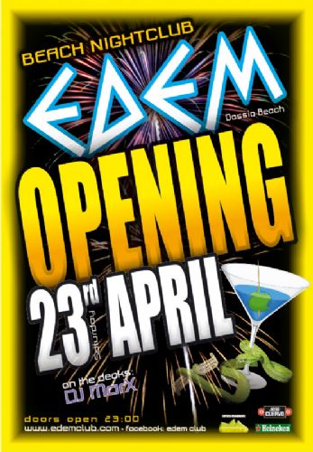 """OPENING PARTY"" – 23/4/2011"
