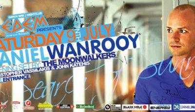 Saturday 09 July @ edem club: DANIEL WANROOY