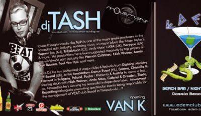 dj TASH @ Edem club …. opening dj set: dj Van_K