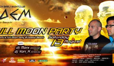 13 August 2011 @n Edem club: full moon party !!!