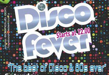 """Saturday 10 September: """"DISCO FEVER"""""""
