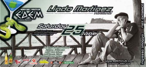 dj/producer Lindo Martinez @ Edem Club – 25/6/2011