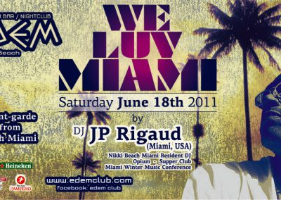 18-06-2011 – WE LUV MIAMI