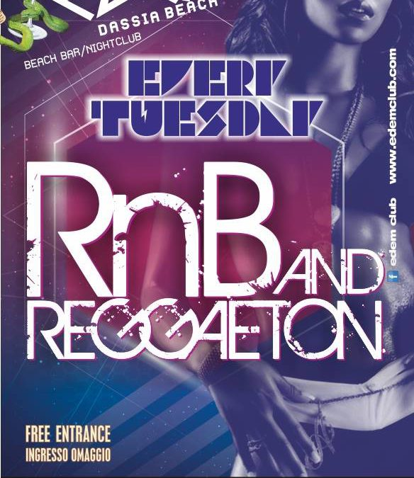 Edem Beach Club presents RnB and Reggaeton | Every Tuesday
