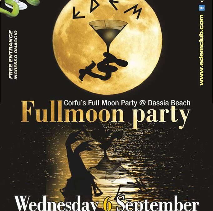 Full Moon Party | Wednesday 6 September