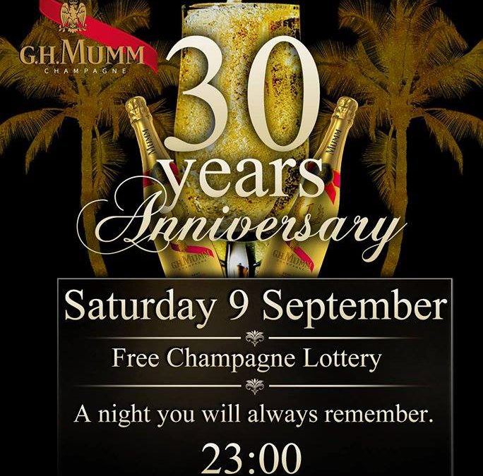 30 Years Edem Beach Club | Saturday 9th of September