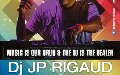 DJ JP Rigaud @ Edem Beach Club | Wednesday 9 August