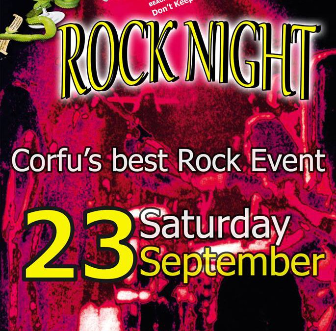 Rock Night @ Edem Beach Club | Saturday 23 September
