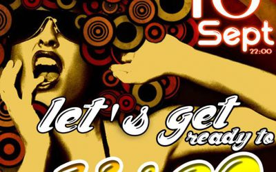 Let's get ready to Disco | Saturday 16 September